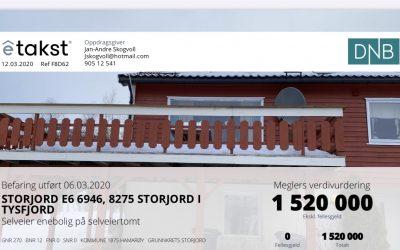 Enebolig til salgs på Storjord i Hamarøy